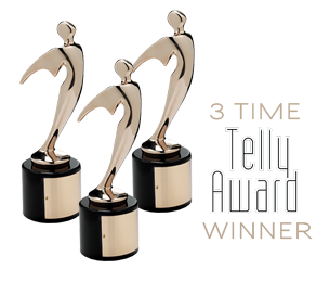 3 Time Telly Award Winner